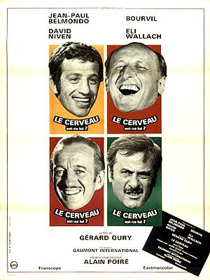 """Résultat de recherche d'images pour """"LE CERVEAU film Oury"""""""
