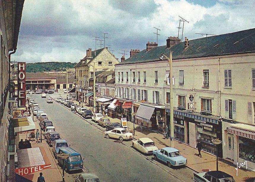 Index of photos du monde vieilles voitures en cartes postales - Garage citroen clermont ferrand ...